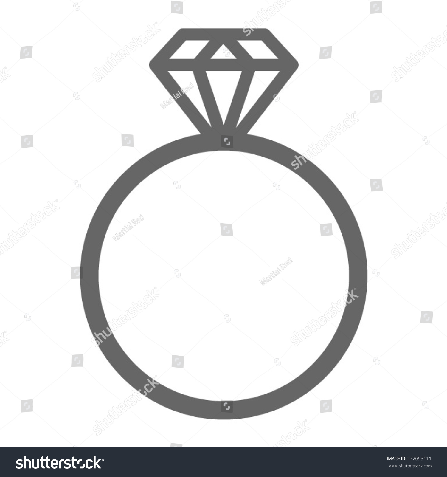 diamond ring vector icon - photo #39