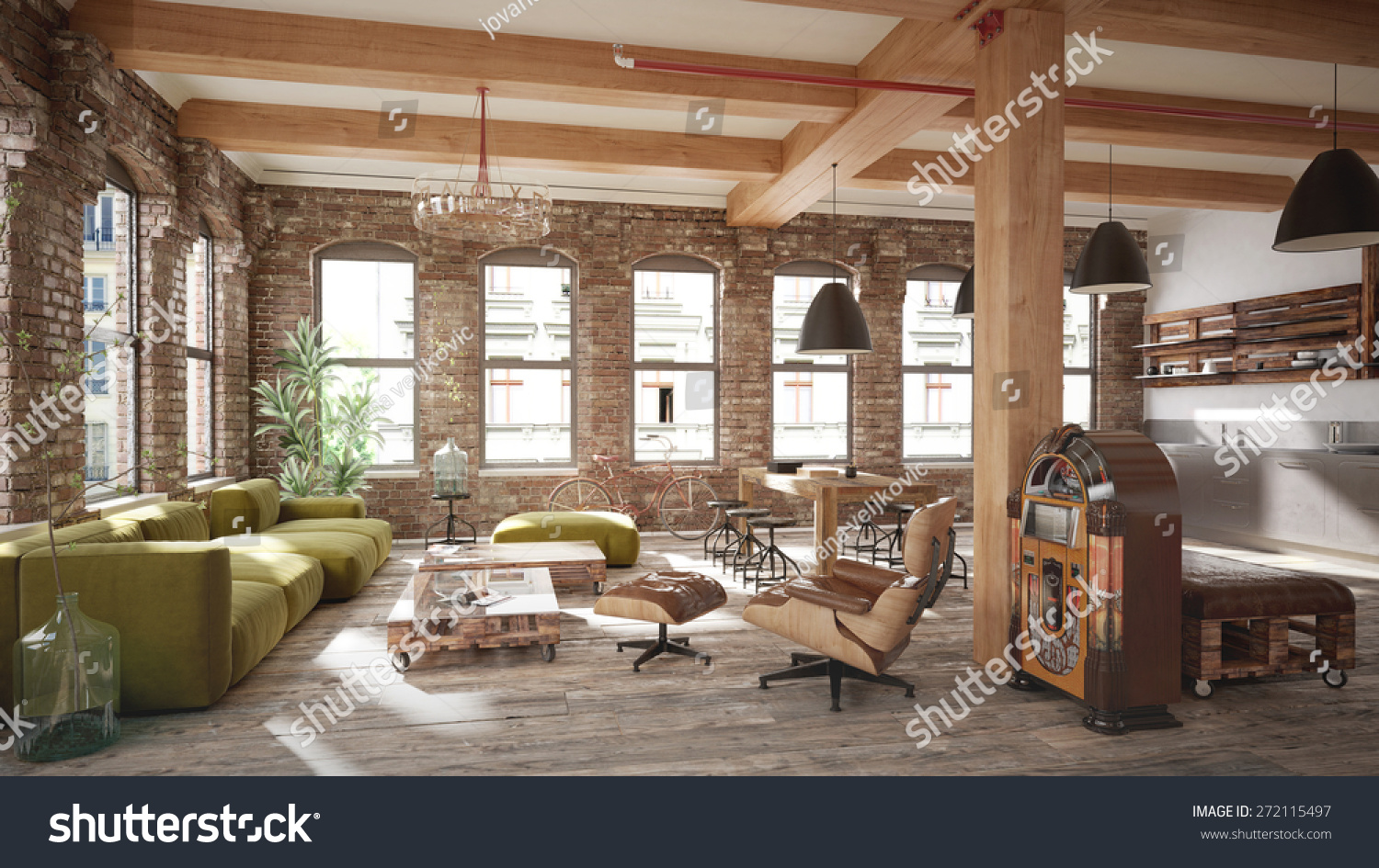 rustic living room  Interior Design Ideas