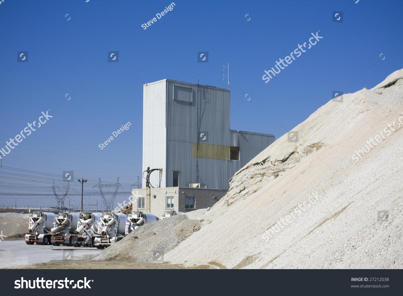 Concrete Production Plant : Cement production plant stock photo shutterstock