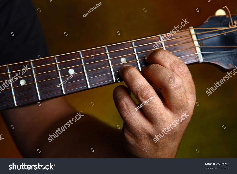 D Major Chord Guitar Stock Photo Edit Now 272139251 Shutterstock