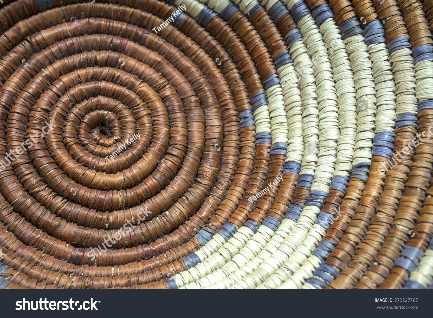 Native American Basket Weaving Instructions : Native american indian basket weaving detail stock photo