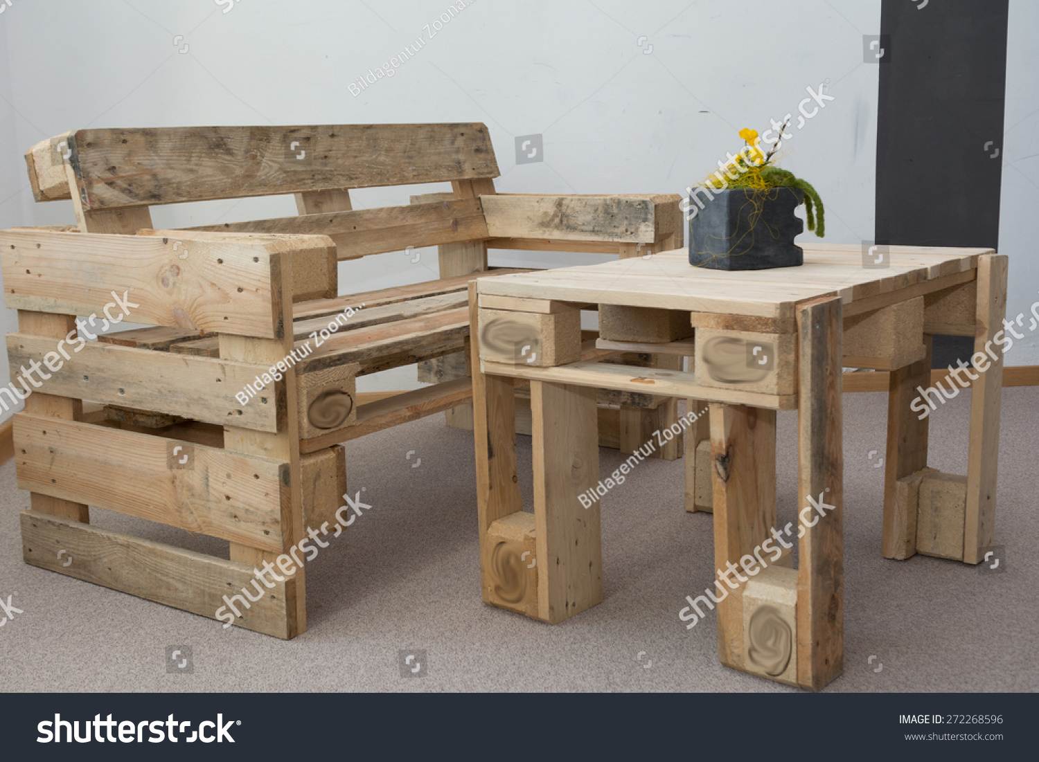 Upcycling Furniture From Pallets