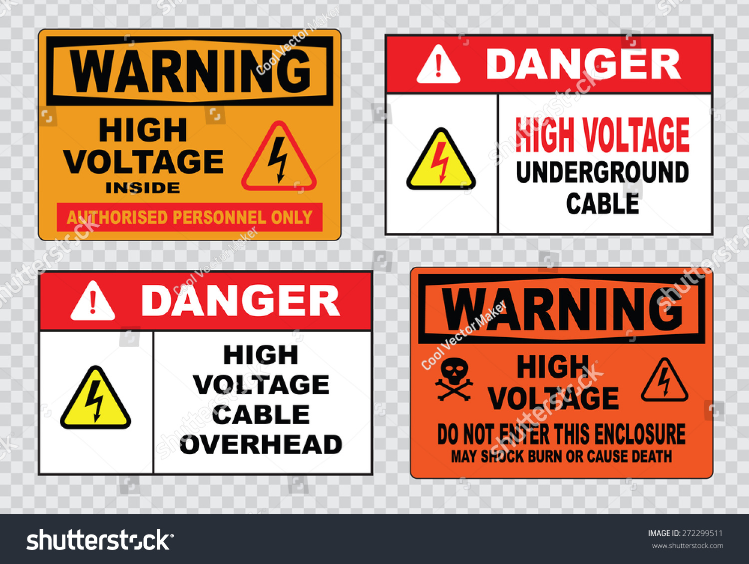 Royalty free high voltage sign or electrical safety 272299511 high voltage sign or electrical safety sign high voltage inside authorized personnel only underground buycottarizona Images
