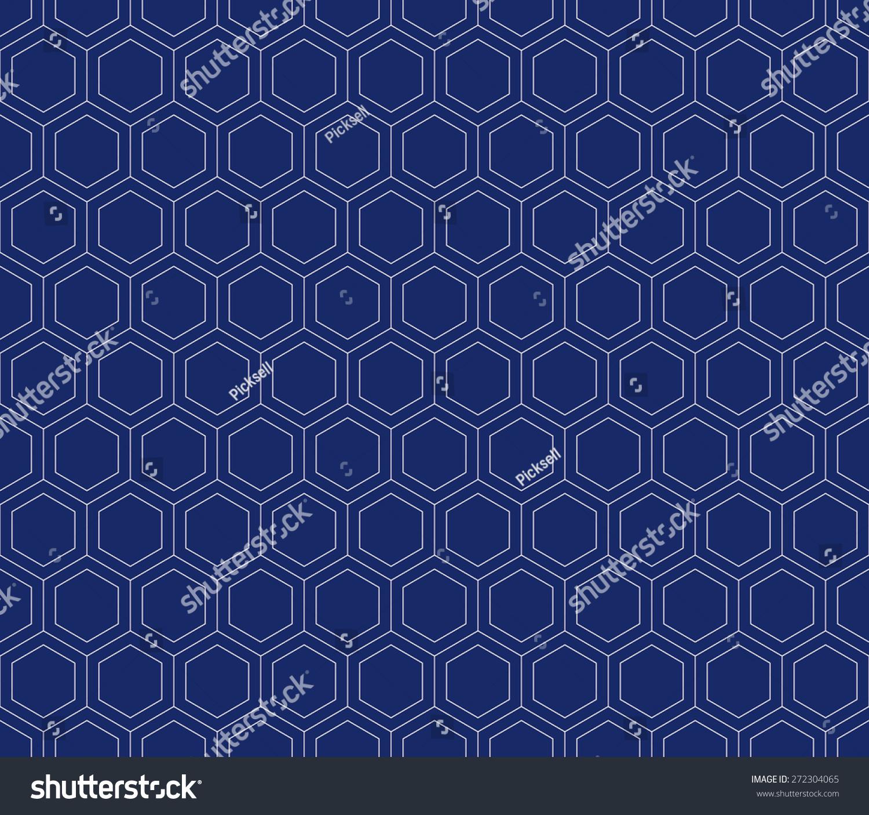 blue hexagonal pattern vector - photo #9