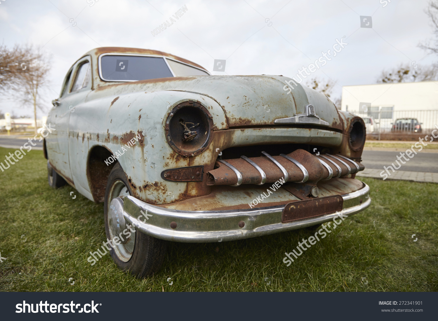 Old Rusty Car Stock Photo & Image (Royalty-Free) 272341901 ...