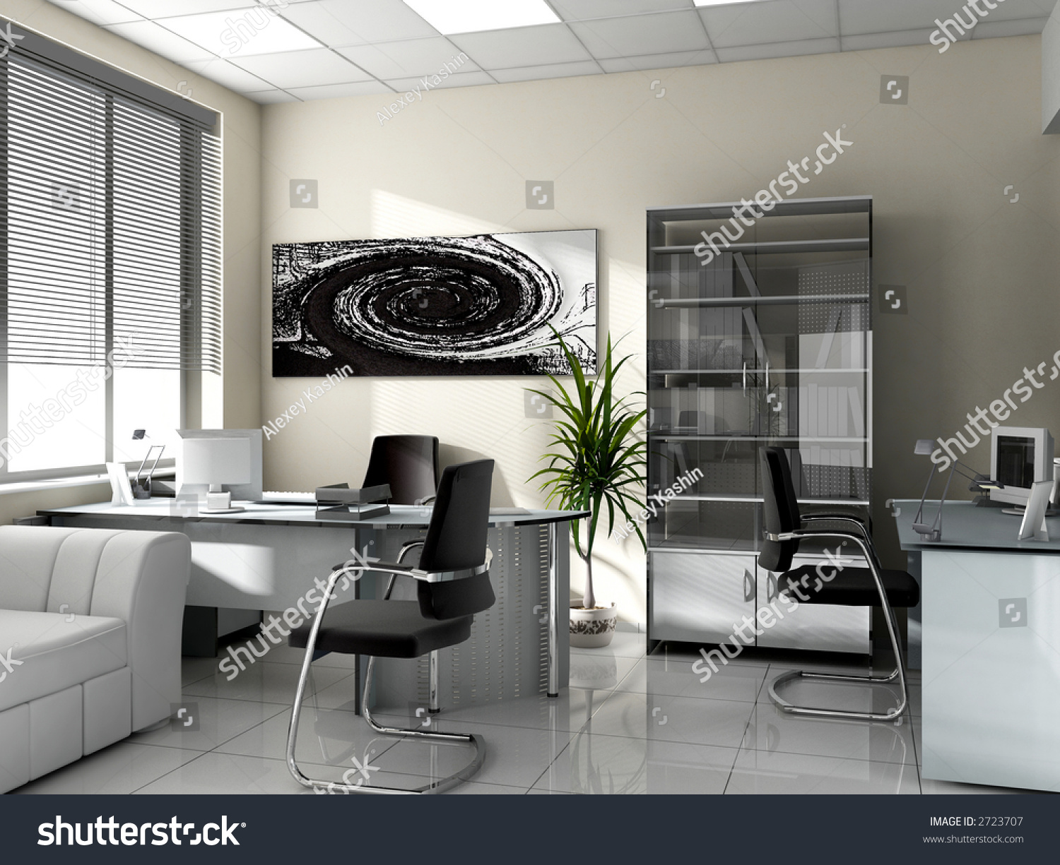 modern interior office stock. Modern Interior Of Office, Exclusive Design Office Stock N
