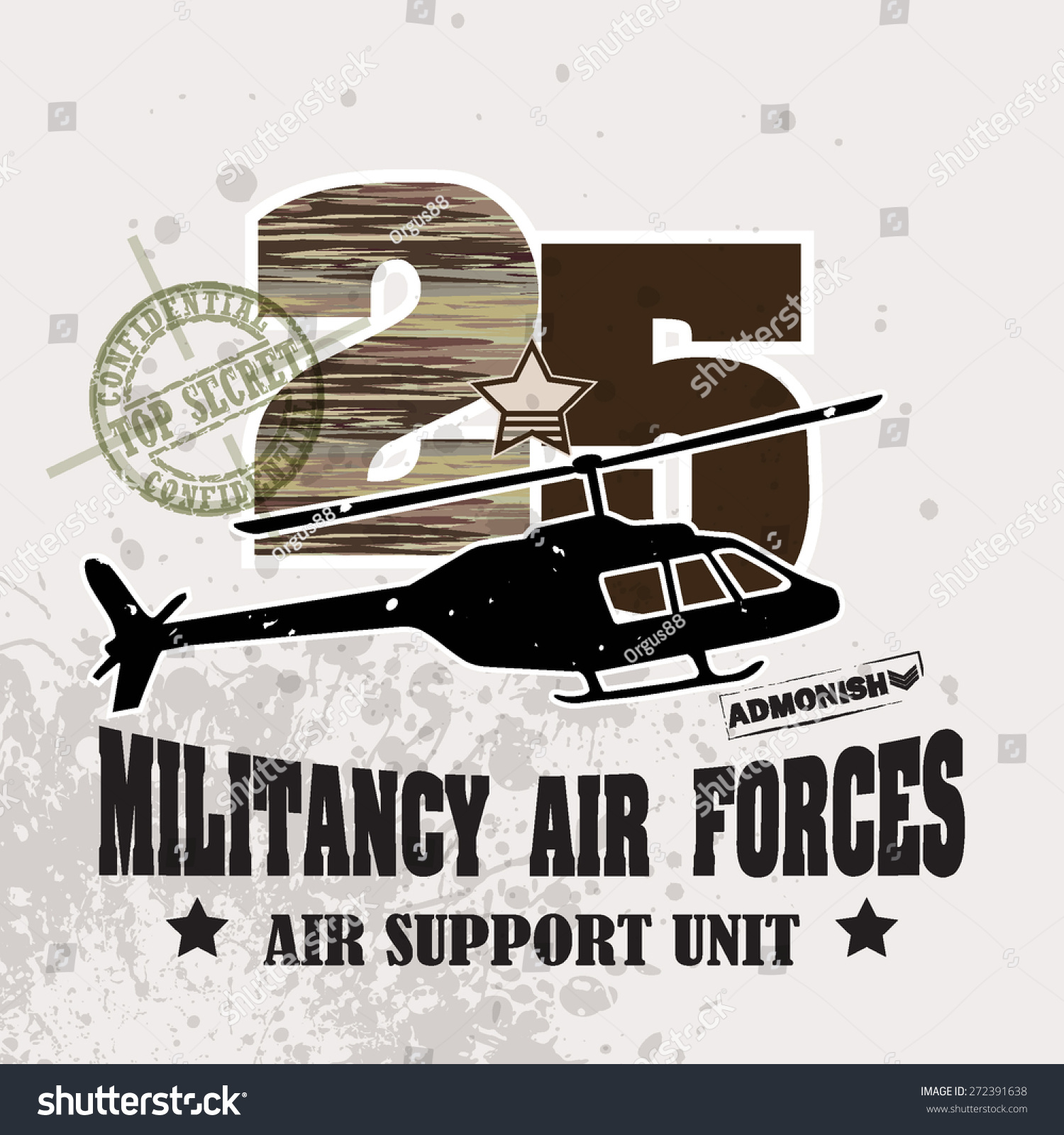 T shirt poster design - Vector War Theme Background Militancy Air Forces For T Shirt Poster