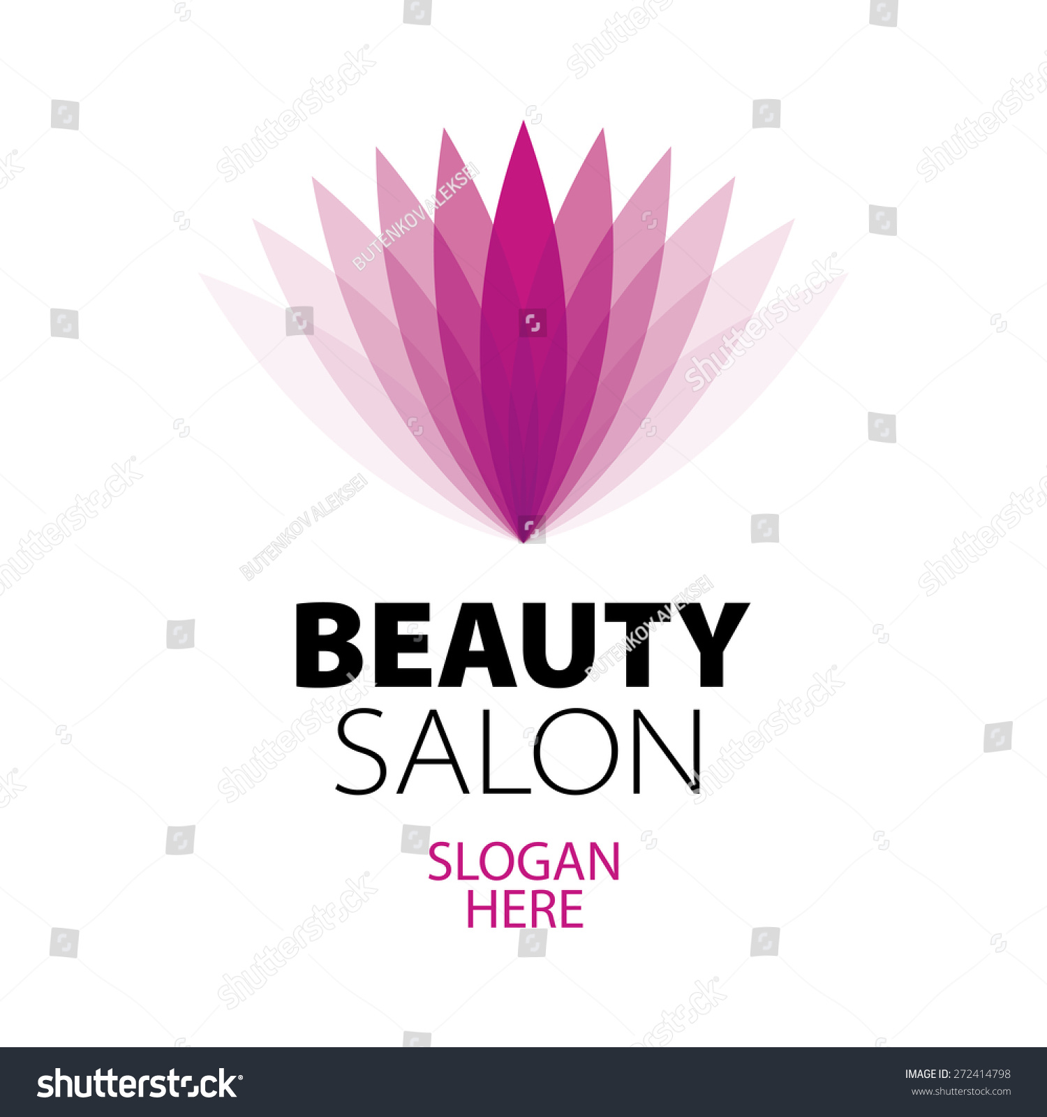 Abstract logo beauty salon stock vector illustration for Abstract beauty salon