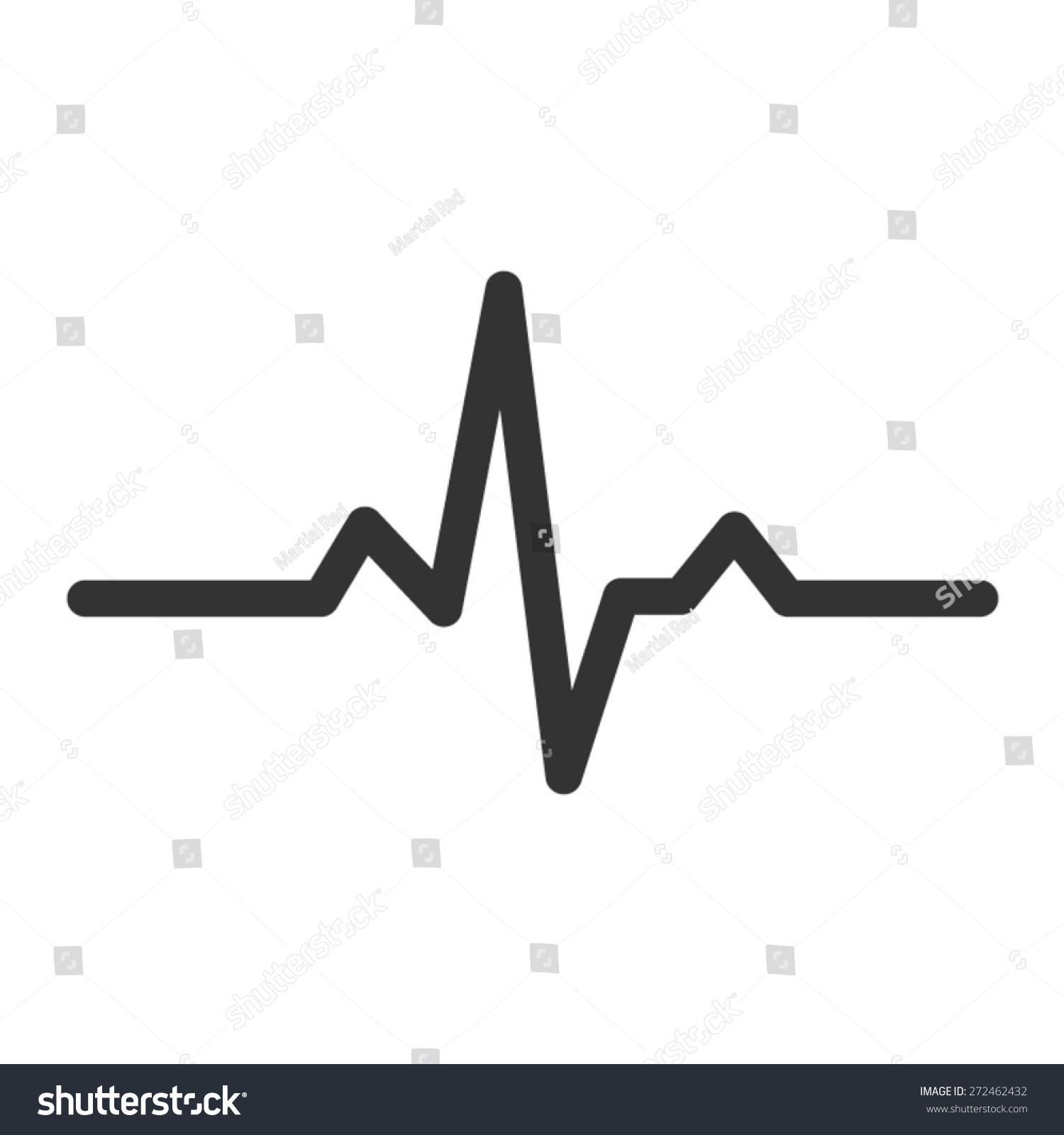 Heartbeat Line Vector Www Imgkid Com The Image Kid Has It