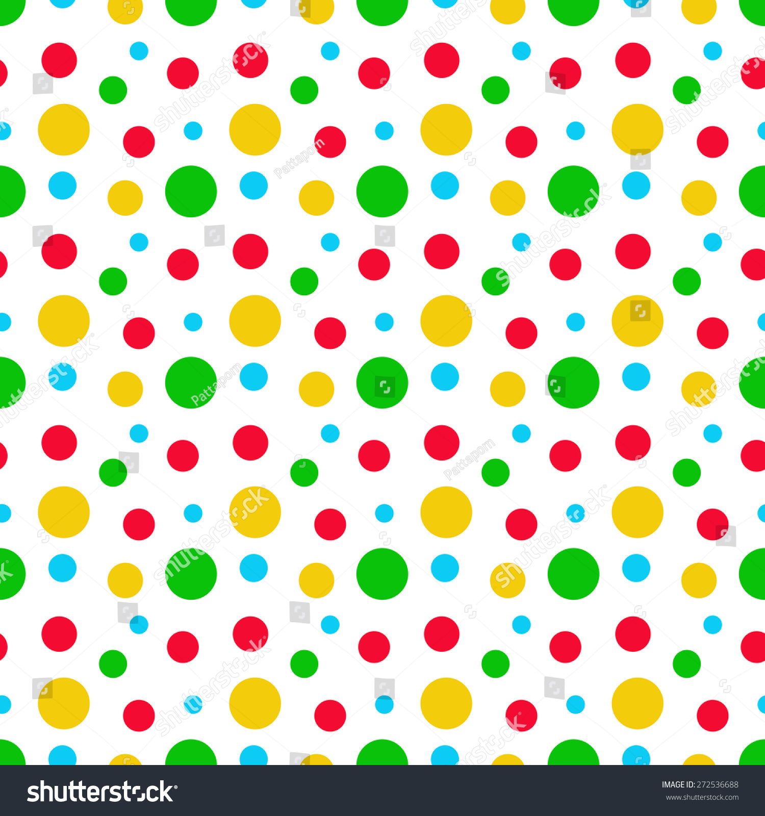 green blue red yellow circles pattern stock illustration