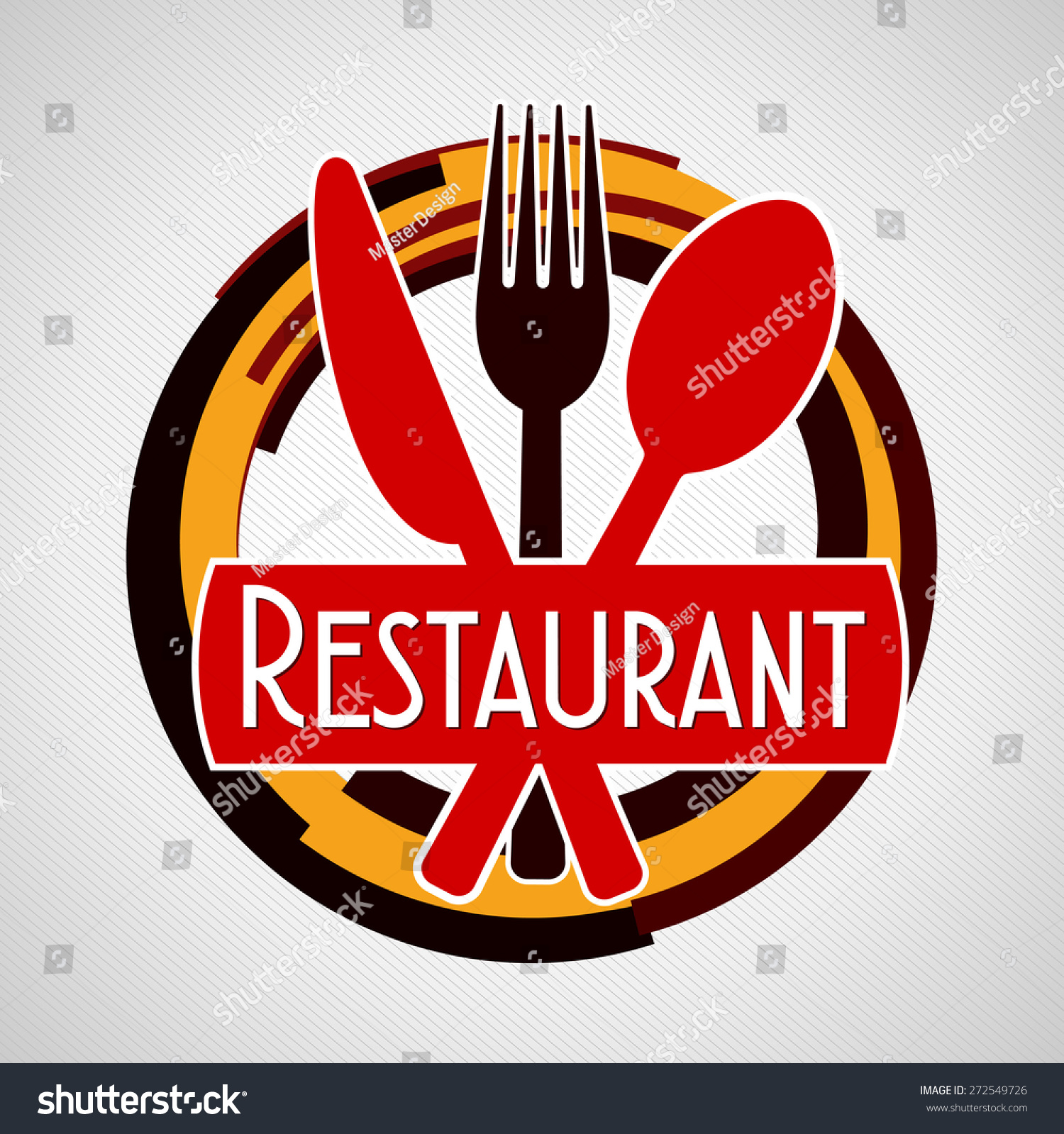 Restaurant logo creative stock vector 272549726 shutterstock restaurant logo creative buycottarizona Image collections