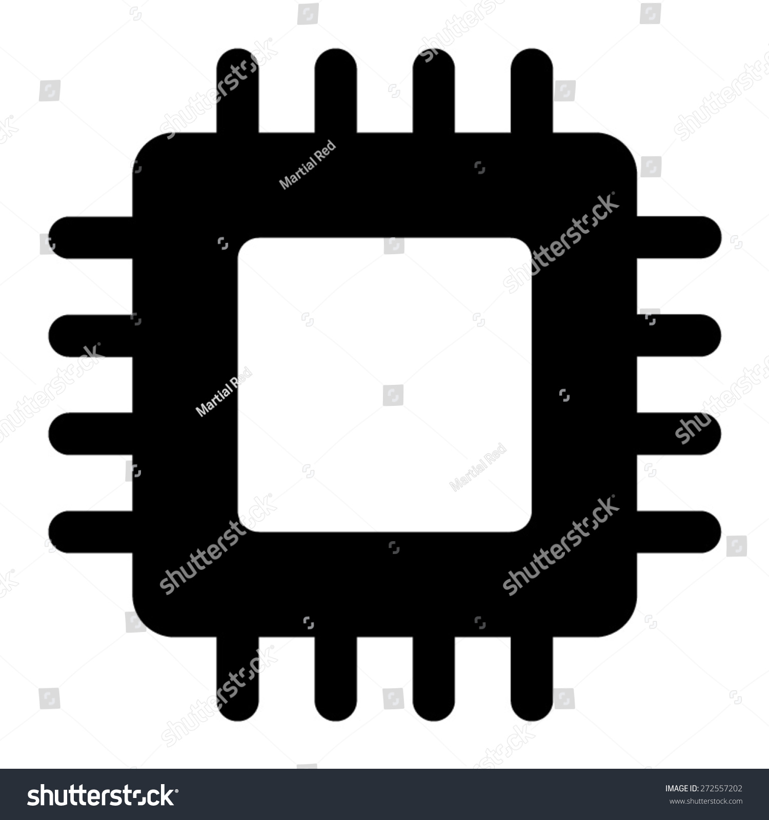 Computer Chip Vector | www.imgkid.com - The Image Kid Has It!