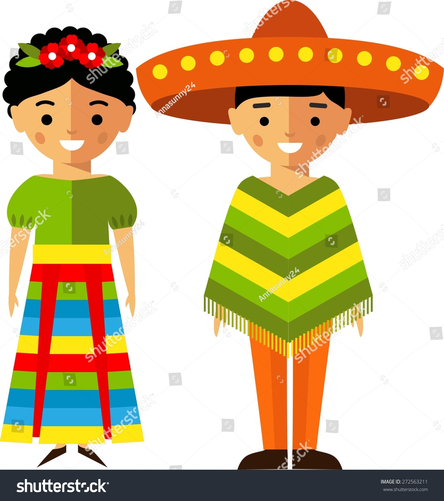 ... Clipart mexican people stock vectors & vector clip art shutterstock