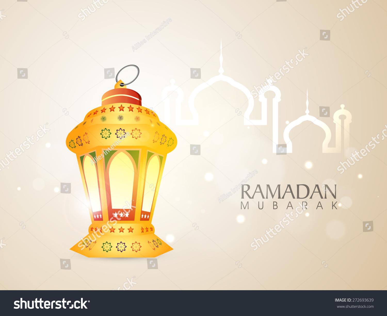 Illuminated Traditional Arabic Lamp Lantern Islamic Stock Vector ... for Traditional Arabic Lamp  76uhy