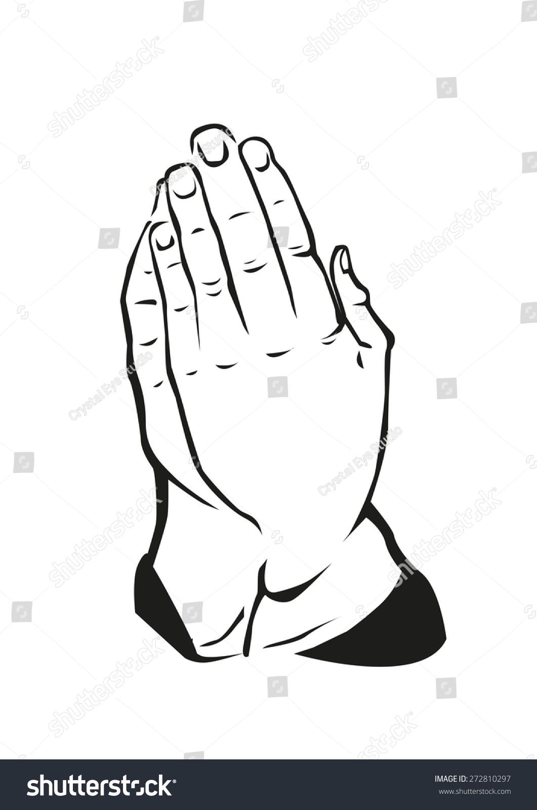 Hand praying position cultural greeting form stock vector 272810297 hand in praying position or in cultural greeting form like in thailands sawasdee hindus namaste kristyandbryce Choice Image