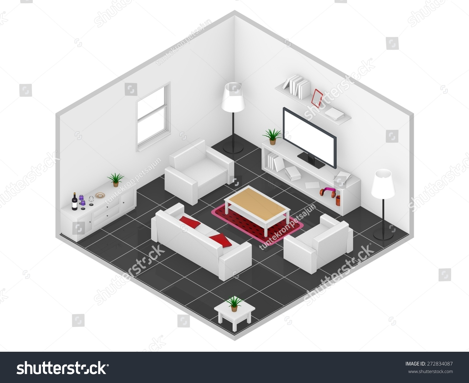 Isometric view of bedroom 28 images isometric view of for 3d bedroom drawing