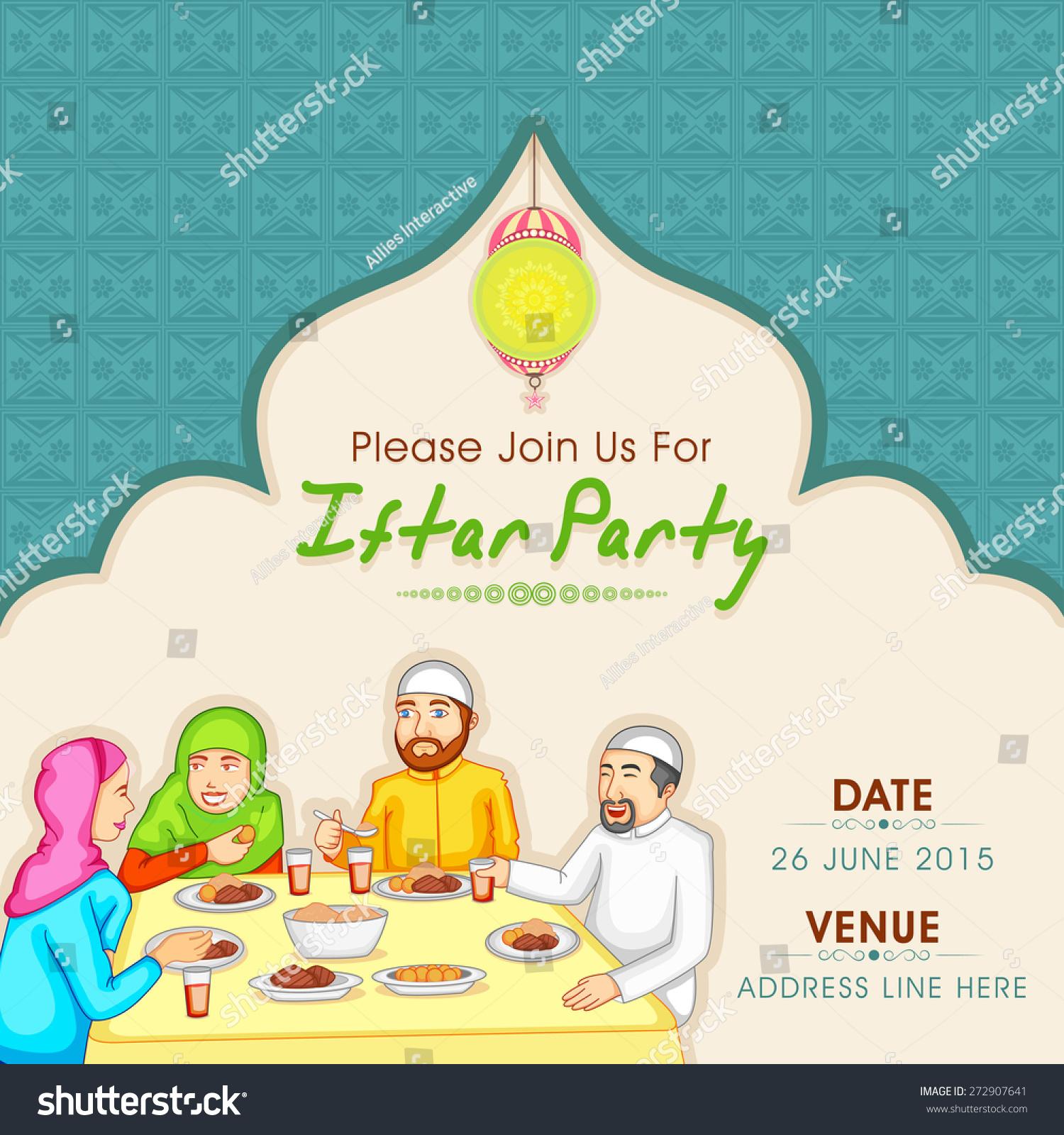 Holy Month Muslim Community Ramadan Kareem Stock Vector (Royalty ...
