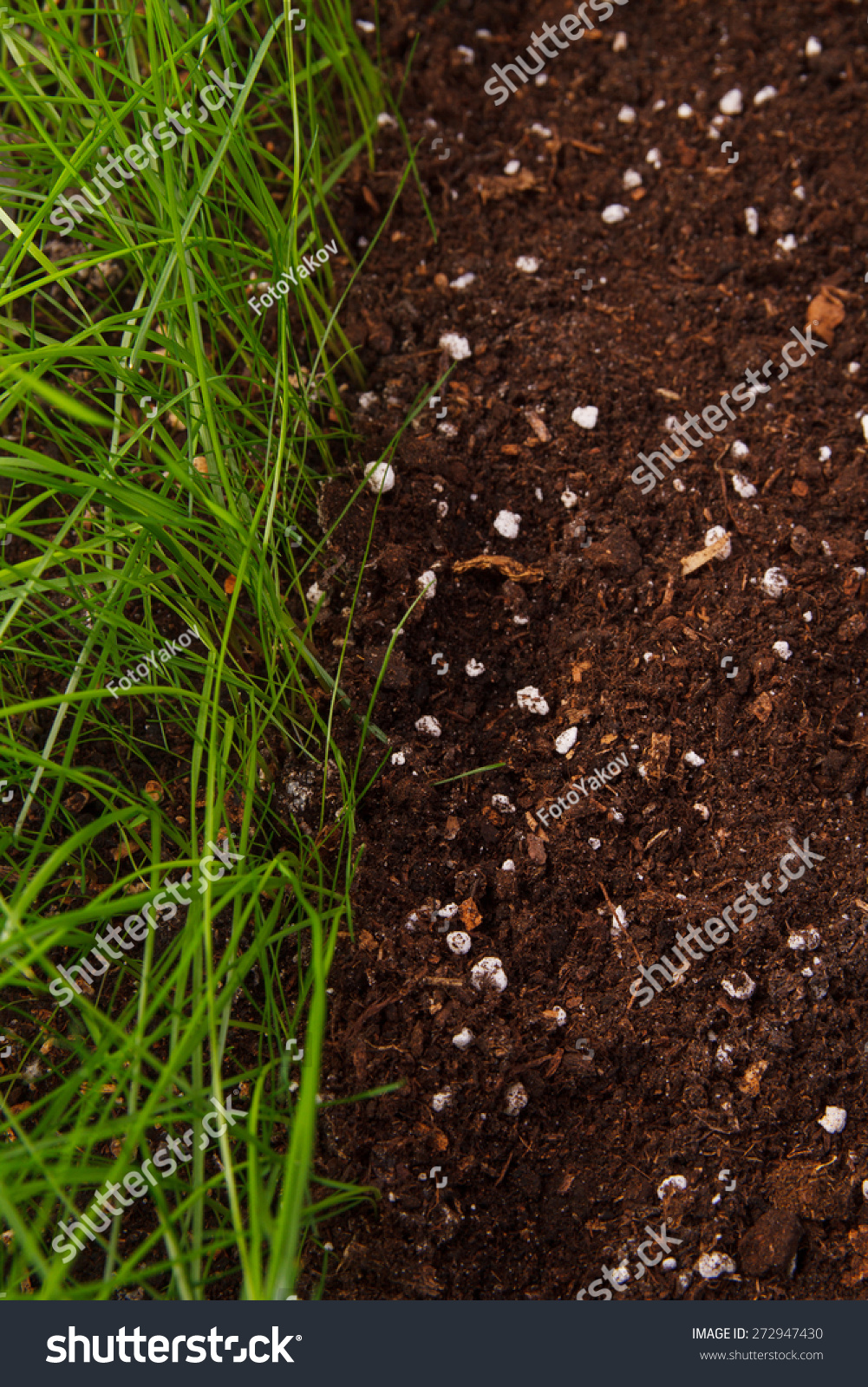 Green grass soil stock photo 272947430 shutterstock for Soil and green