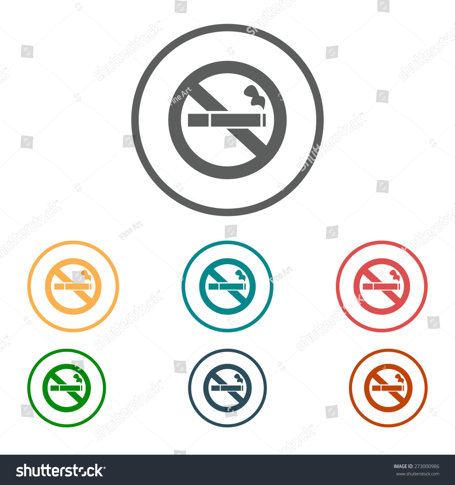 No smoke icon stop smoking symbol stock vector 273000986 shutterstock no smoke icon stop smoking symbol vector illustration filter tipped cigarette buycottarizona Images
