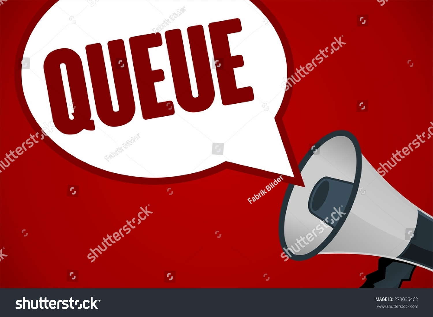 stock-photo-queue-word-out-of-megaphone-