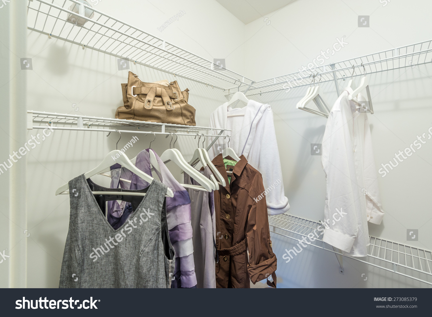 Charmant A Clothing Closet, Working Closet, Cupboard In Bedroom.