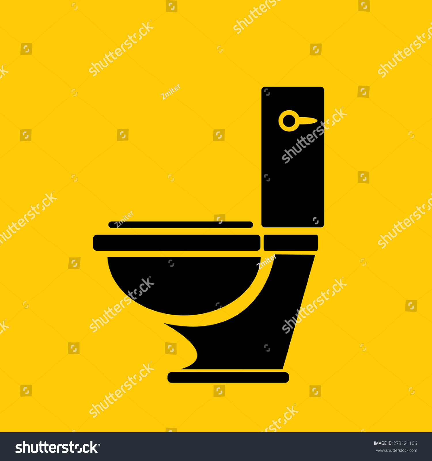 Vector Toilet Symbol Toilet Sign Toilet Stock-vektorgrafik ... Offentliche Toilette Park Landschaft