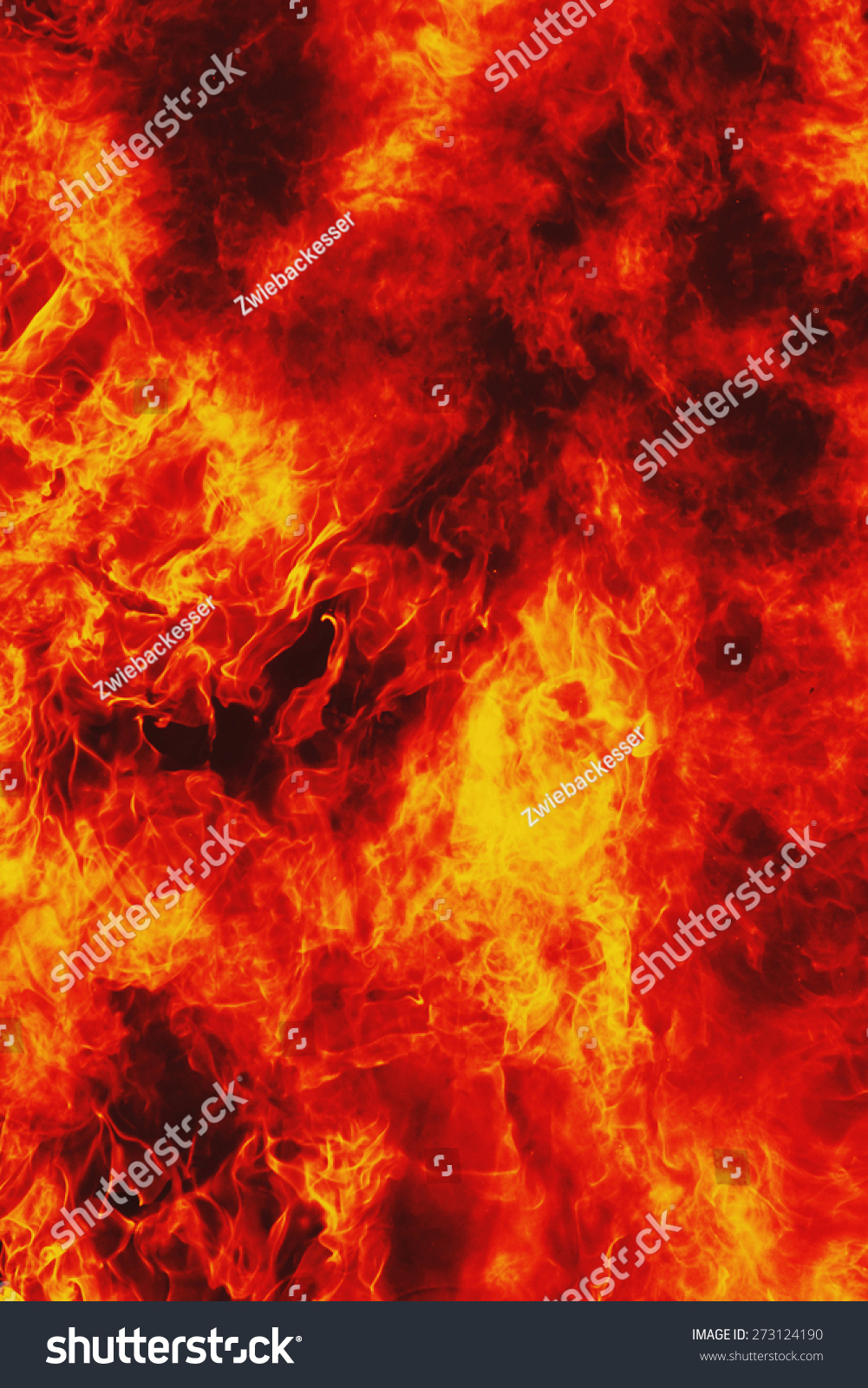 Background Of Fire As A Symbol Of Hell And Inferno Ez Canvas