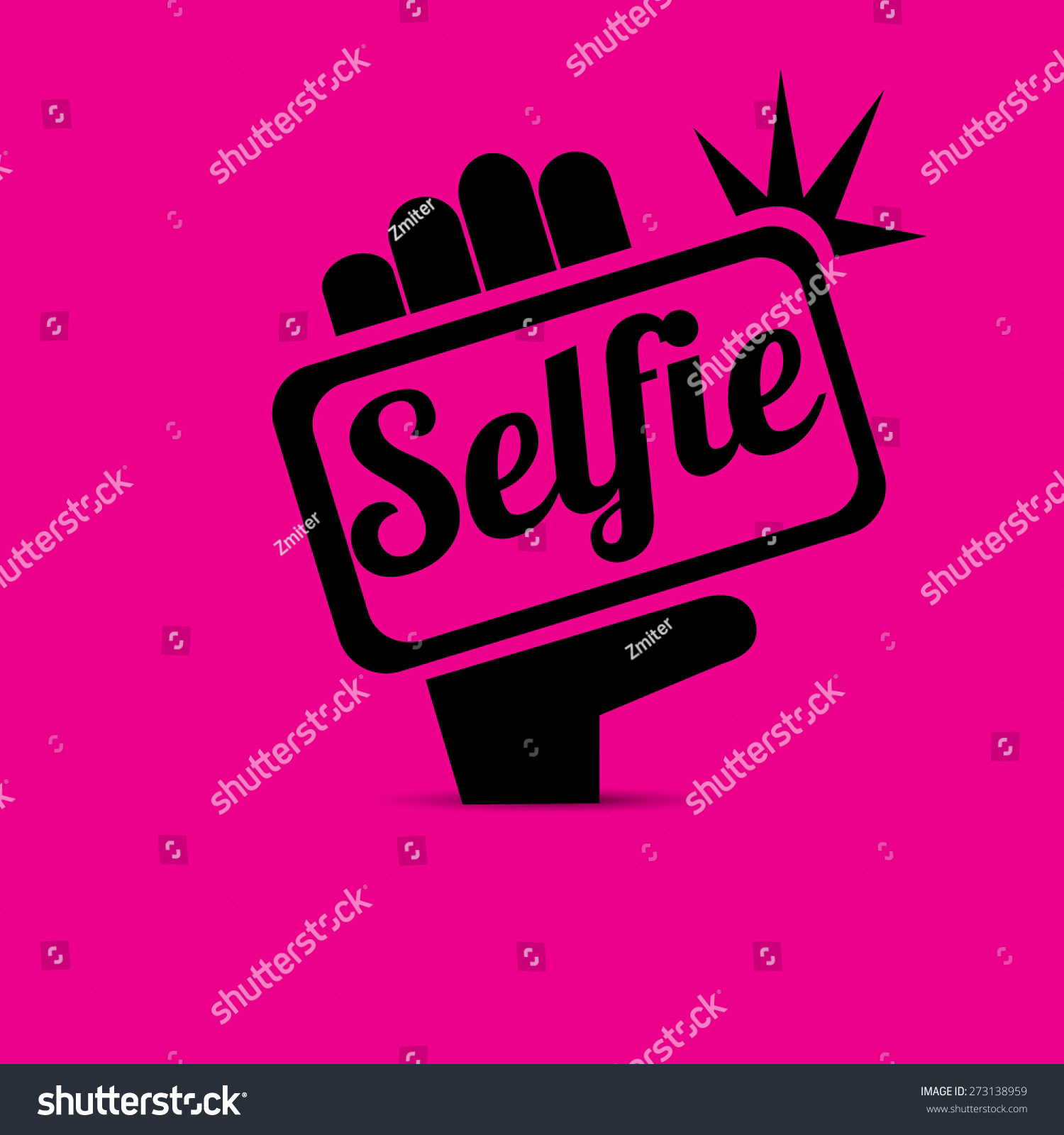 -vector-taking-selfie-photo-on-smart-phone-concept-icon-set-vector ...