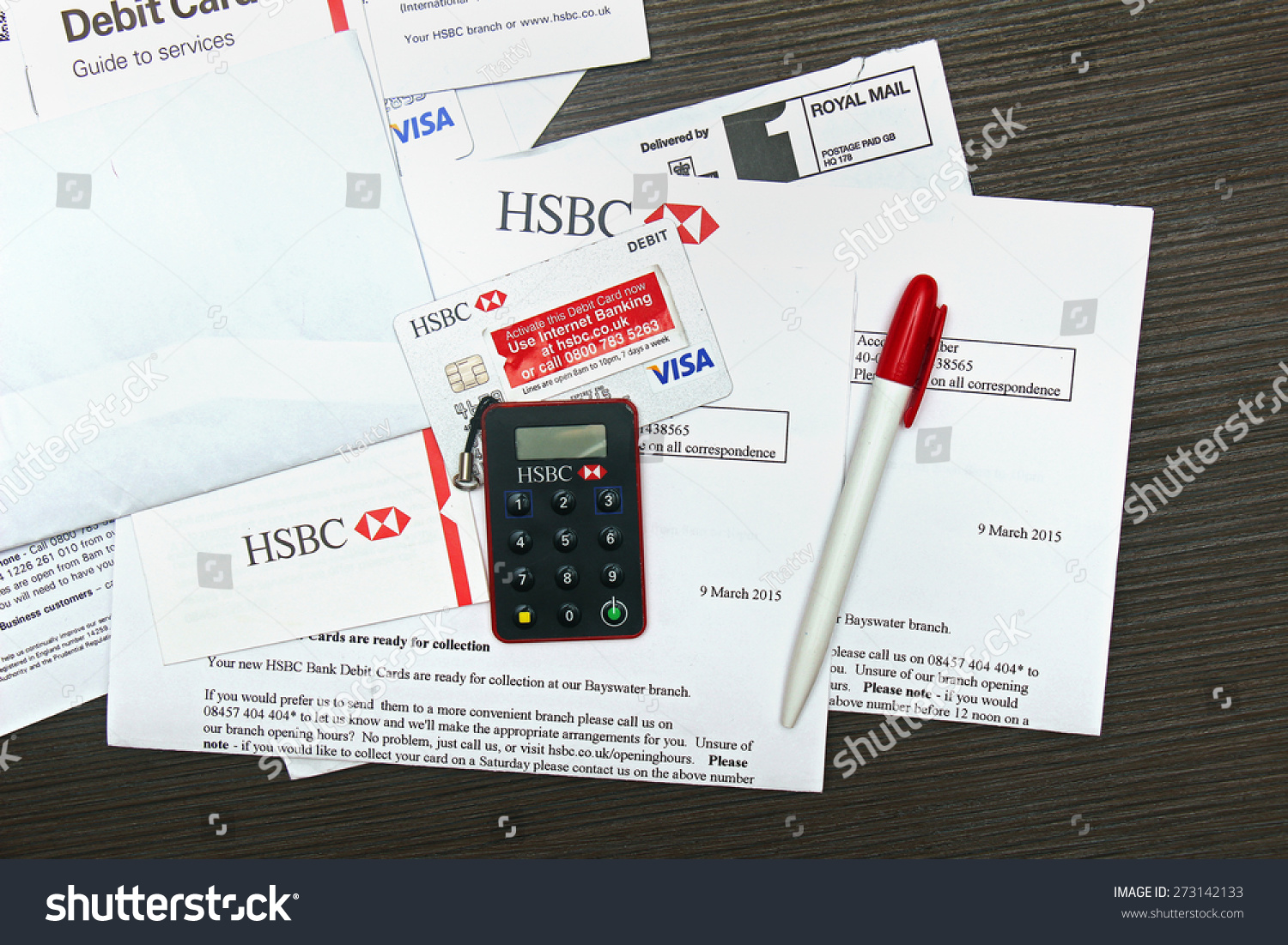 London Uk April 14 2015 Hsbc Stock Photo (Edit Now) 273142133