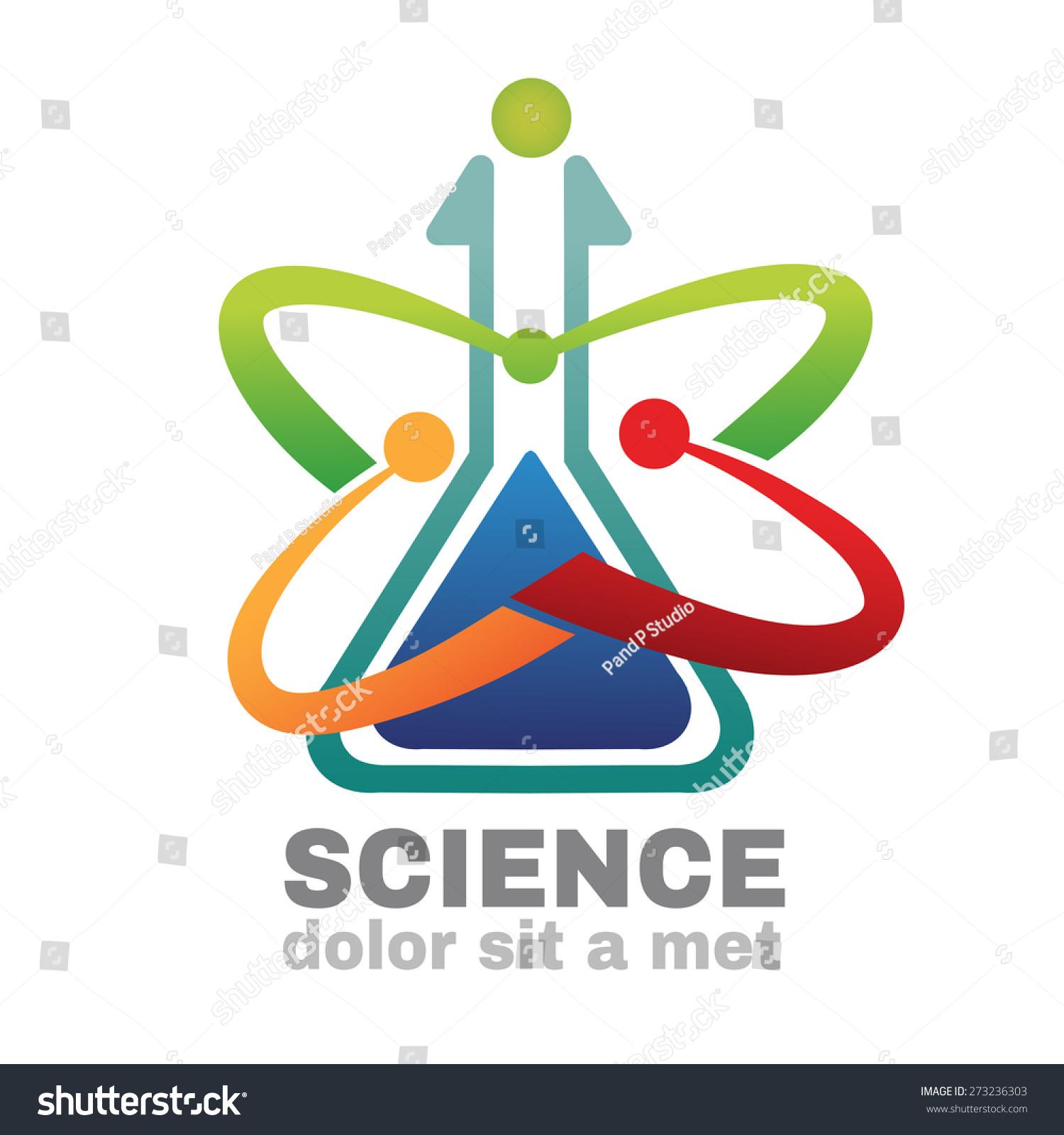 stock-vector-science-logo-vector-creative-logo-design-template ...
