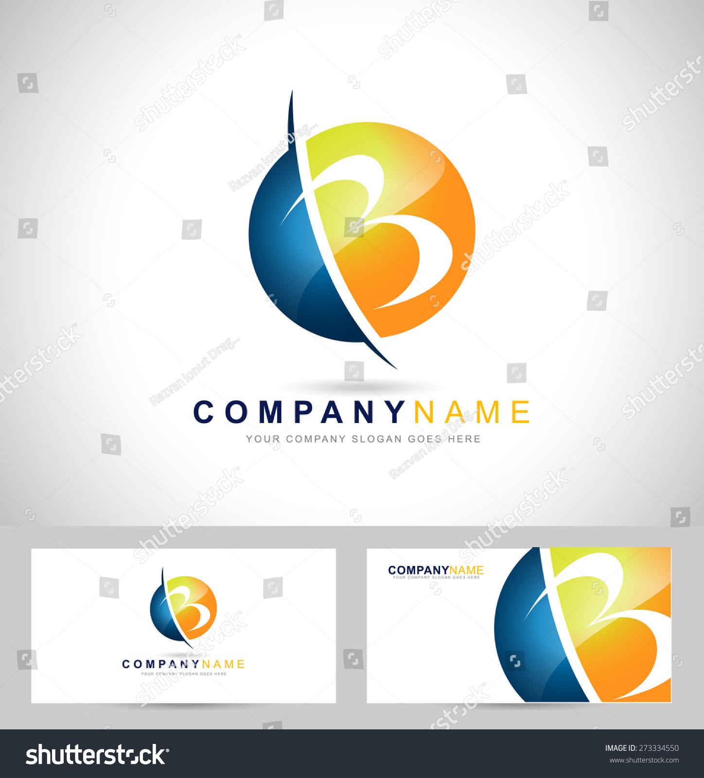 Creative Letter B Logo Design Creative Stock Vector (2018) 273334550 ...