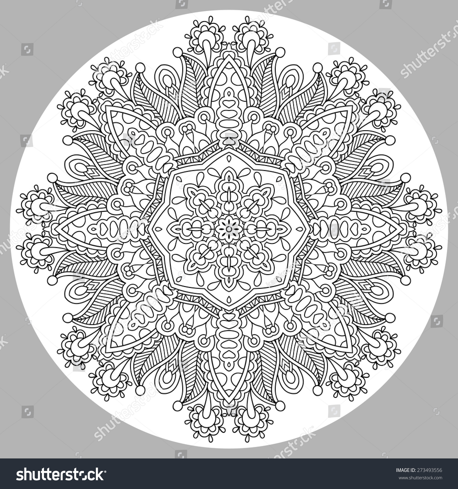 Coloring books for adults and children - Coloring Book Page For Adults Zendala Joy To Older Children And Adult Colorists