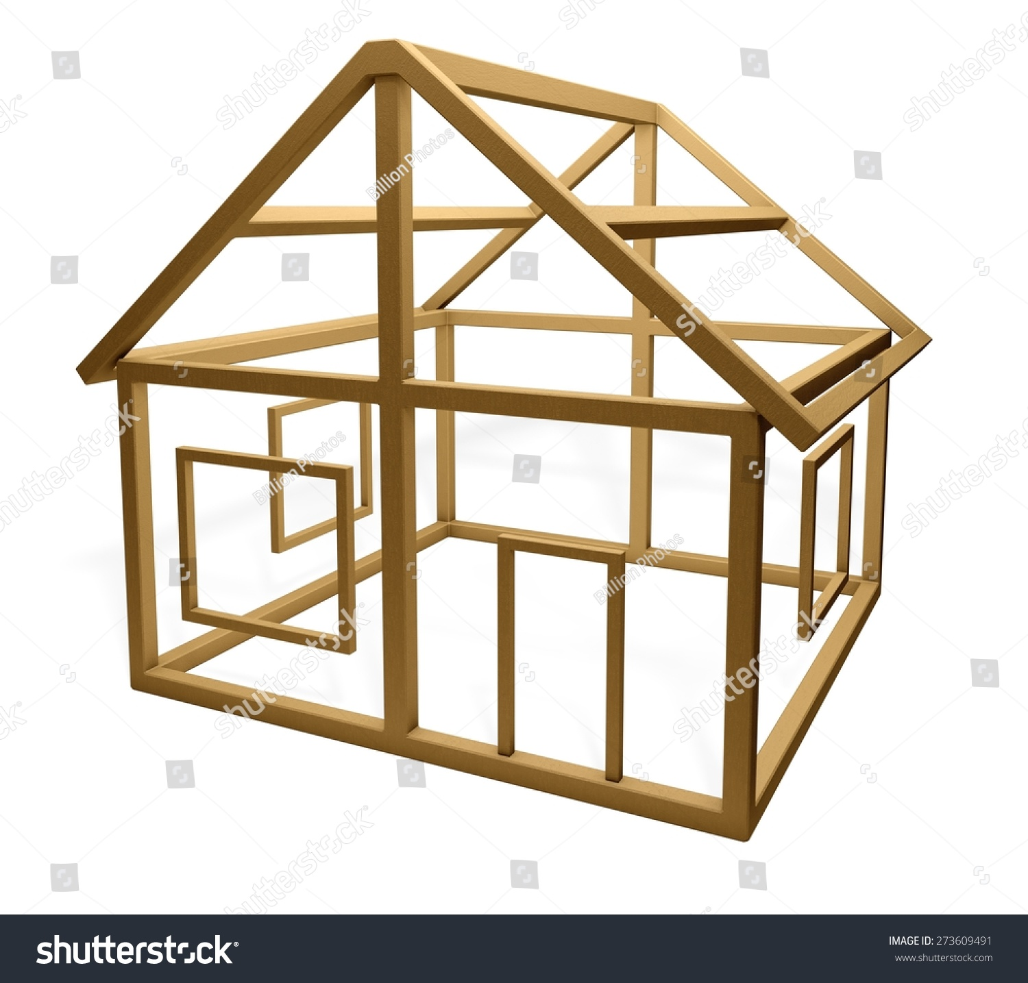 Construction Frame House