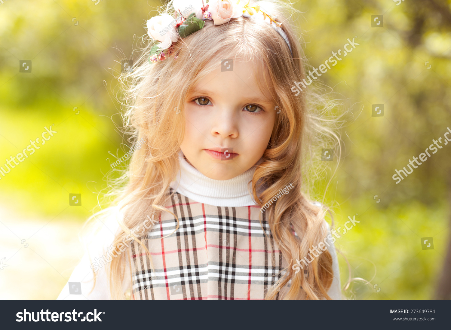 cute baby girl 34 year old stock photo (edit now) 273649784