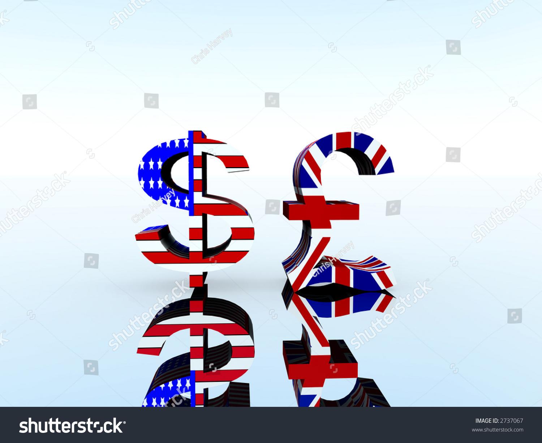 Royalty Free Stock Illustration Of Set Us Uk Currency Symbols Stock