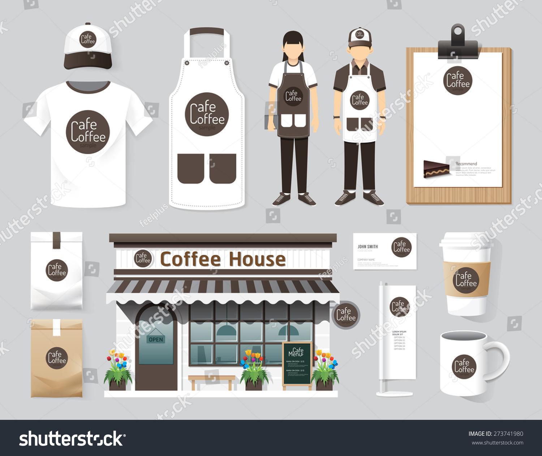 Shirt uniform design vector - Vector Buildings Restaurant And Cafe Shop Front Design Flyer Menu Package T