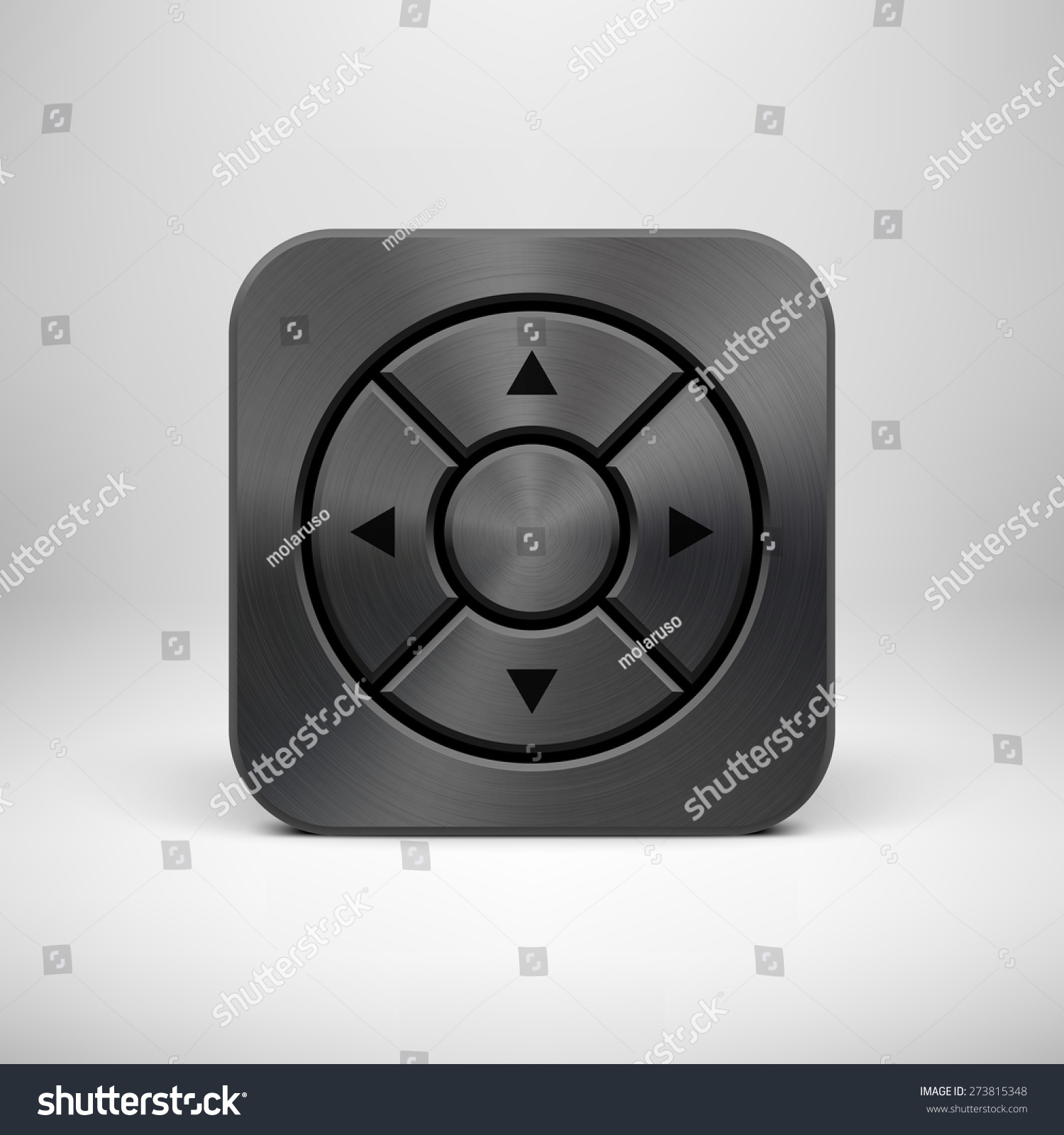 black abstract technology app icon button stock vector 273815348 shutterstock. Black Bedroom Furniture Sets. Home Design Ideas