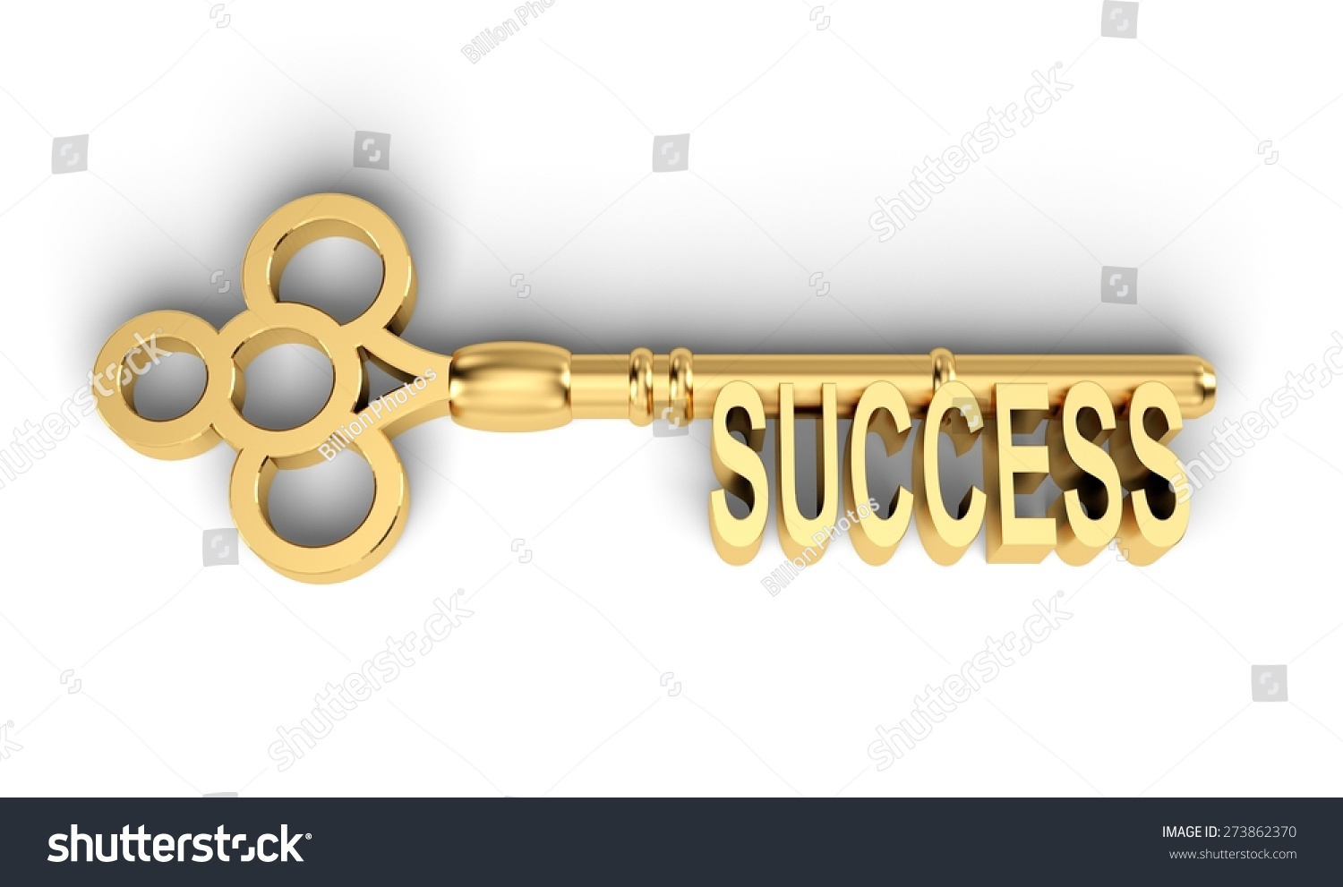 With golden key 3d rendering plan concept with golden key 3d rendering - 3d Key Success Key To Success