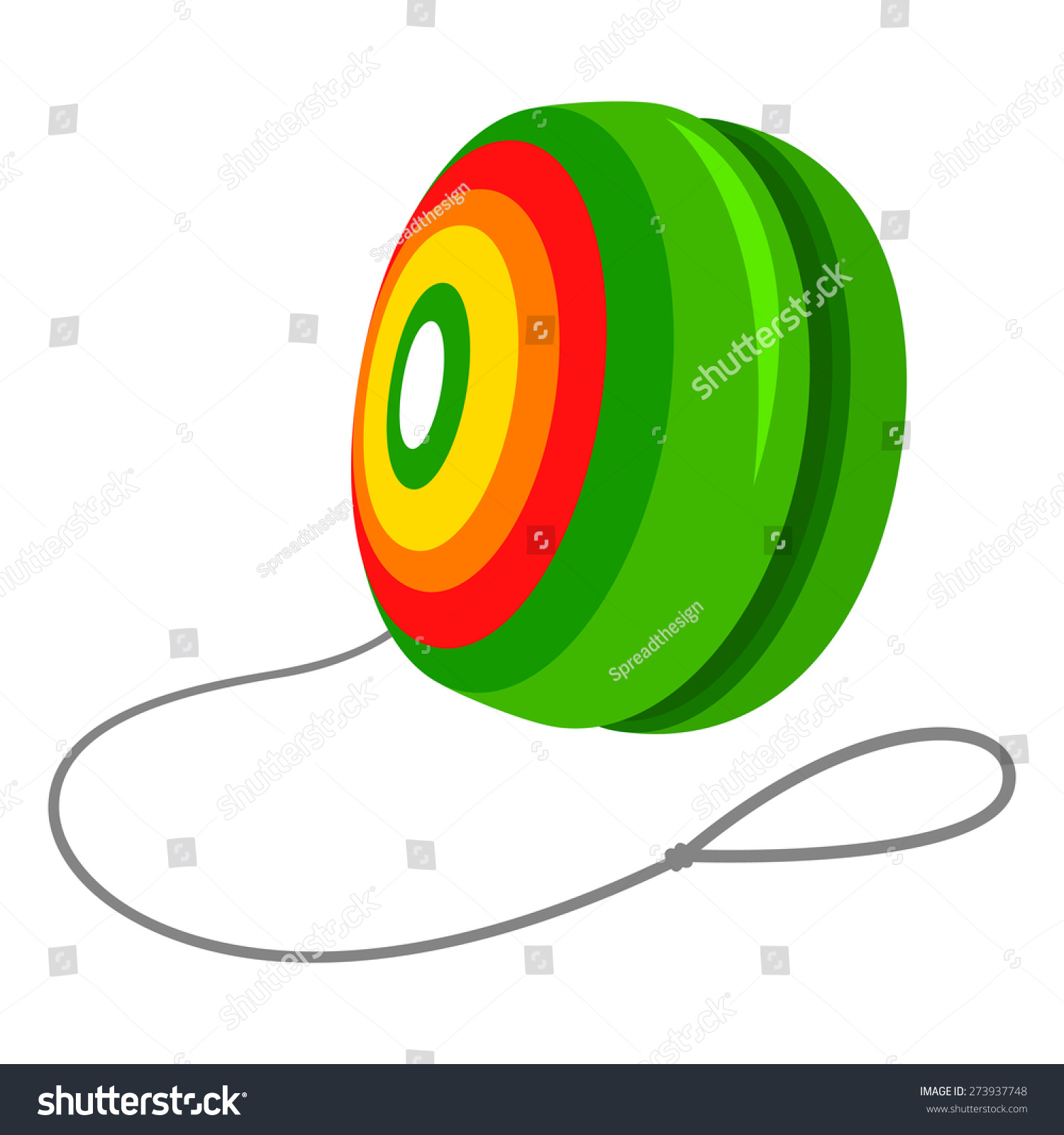 Yo Yo Cartoon yo-yo stock vector illustration 273937748   shutterstock