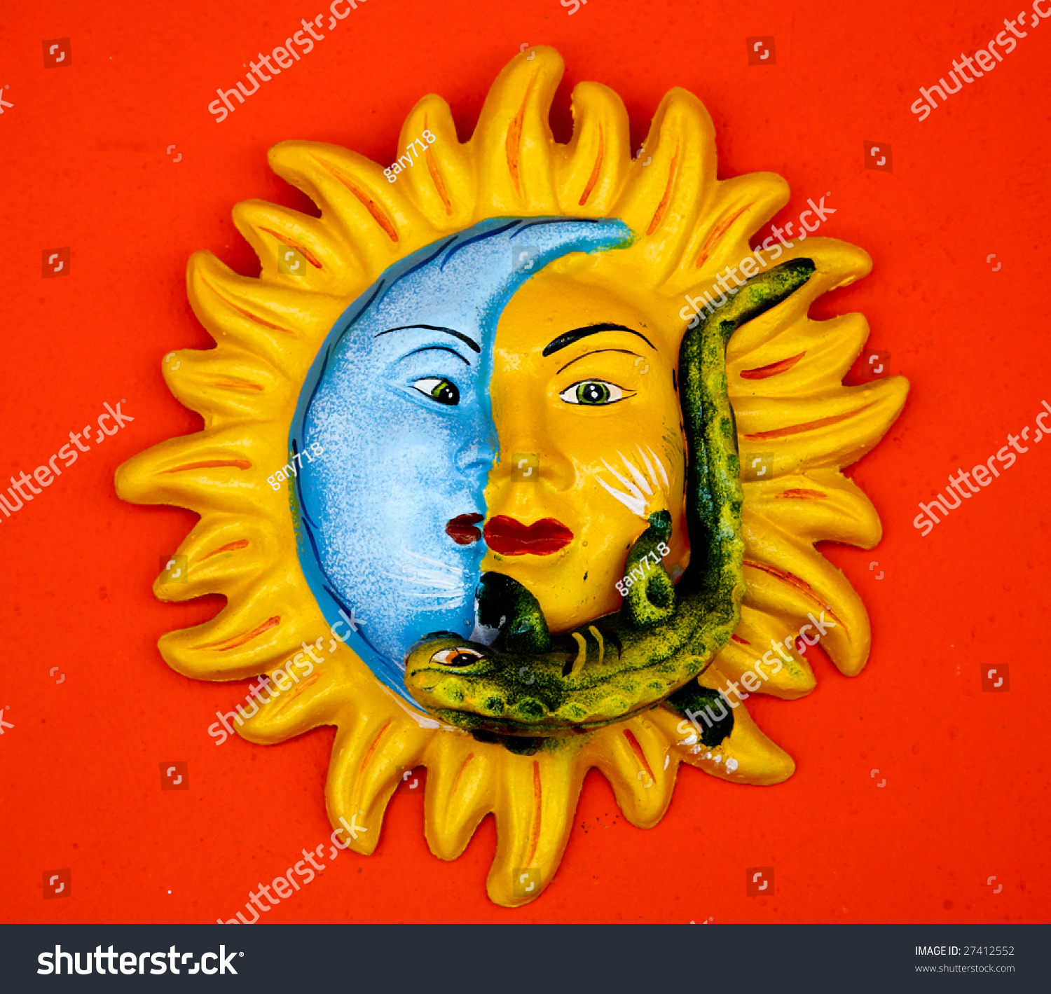 Fine Mexican Ceramic Wall Art Ornament - Wall Art Collections ...