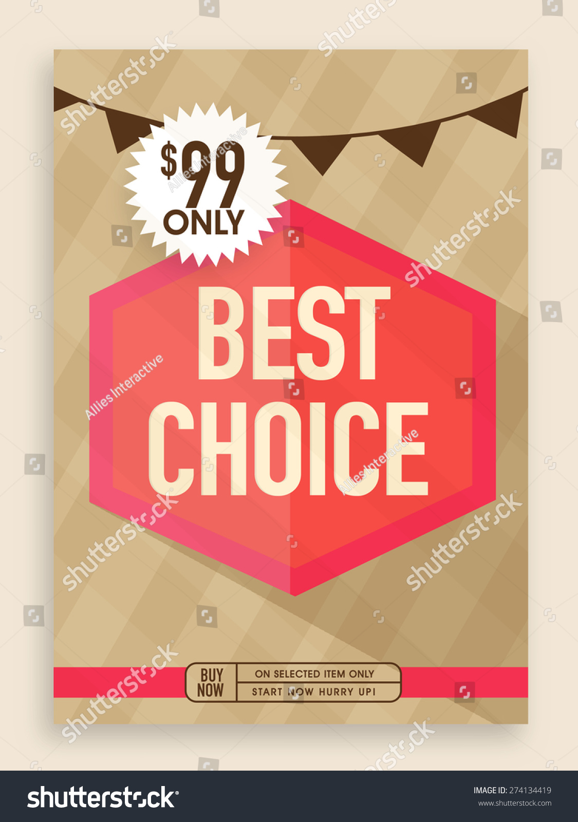 vintage best choice poster banner or flyer design for stock flyer design for preview save to a lightbox
