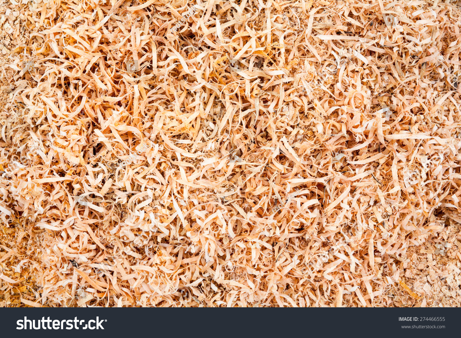 Pile Wood Sawdust Background Texture Stock Photo 274466555 ...