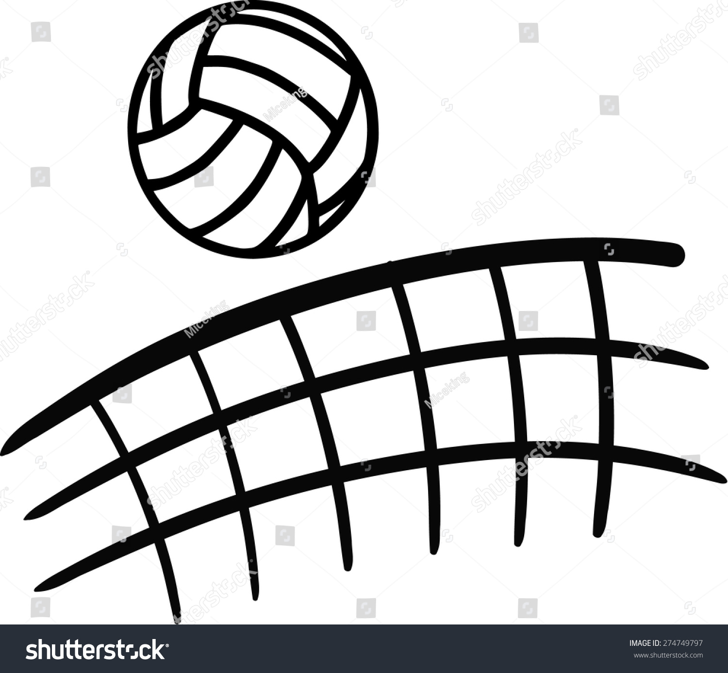 volleyball clipart vector - photo #49