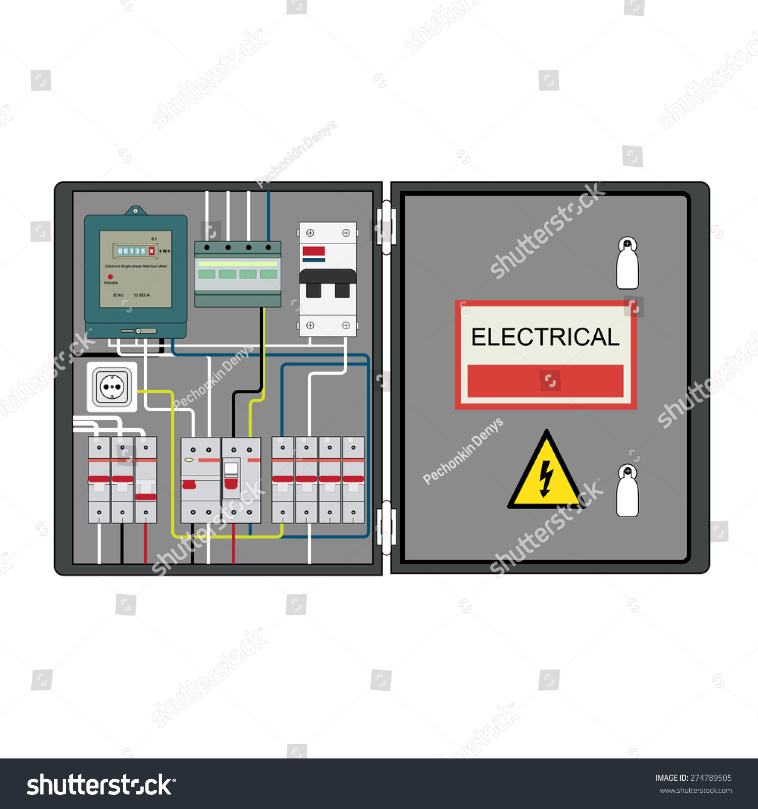 Electricity Energy Meter Shield
