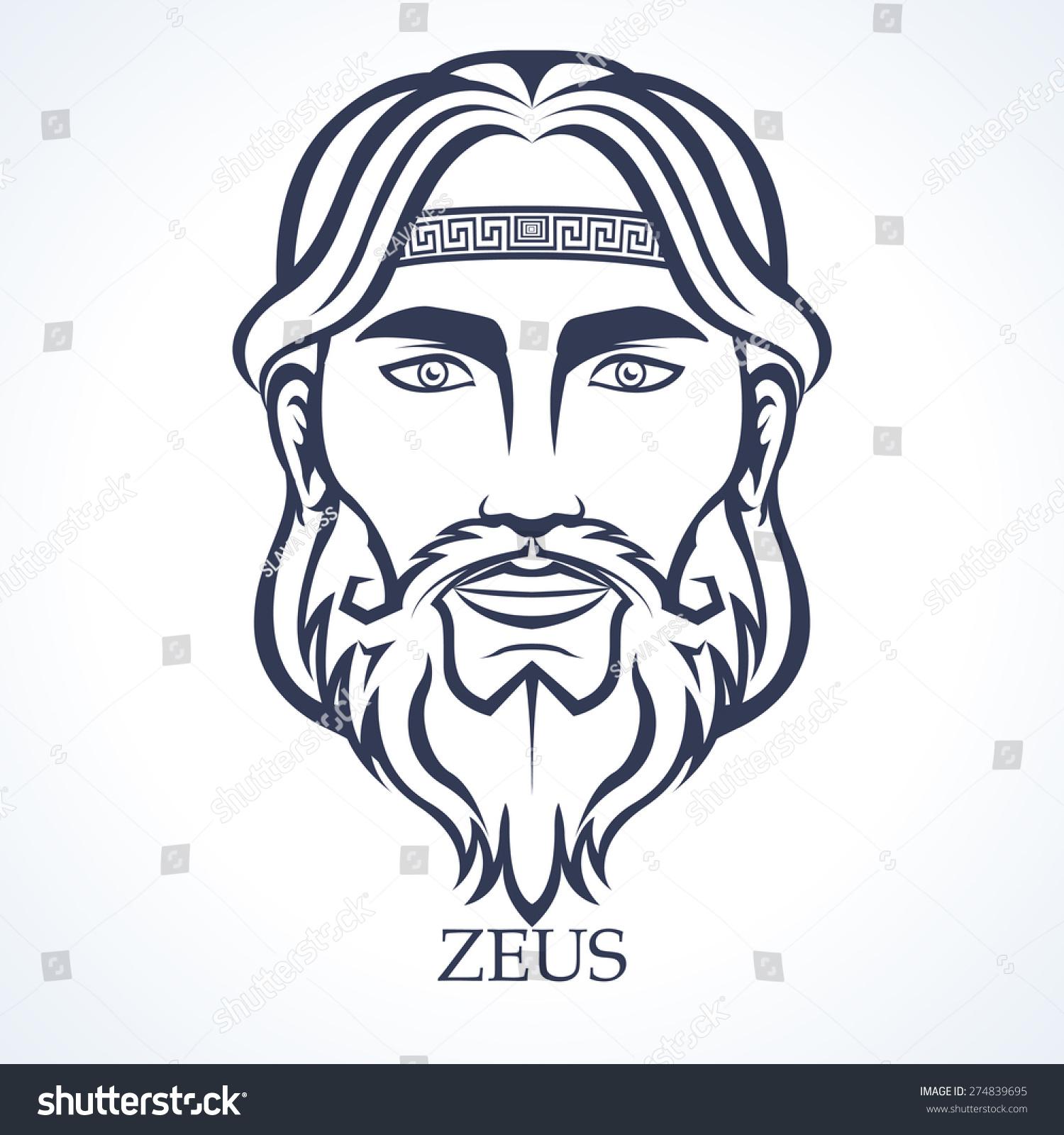 Cartoon Zeus Symbol