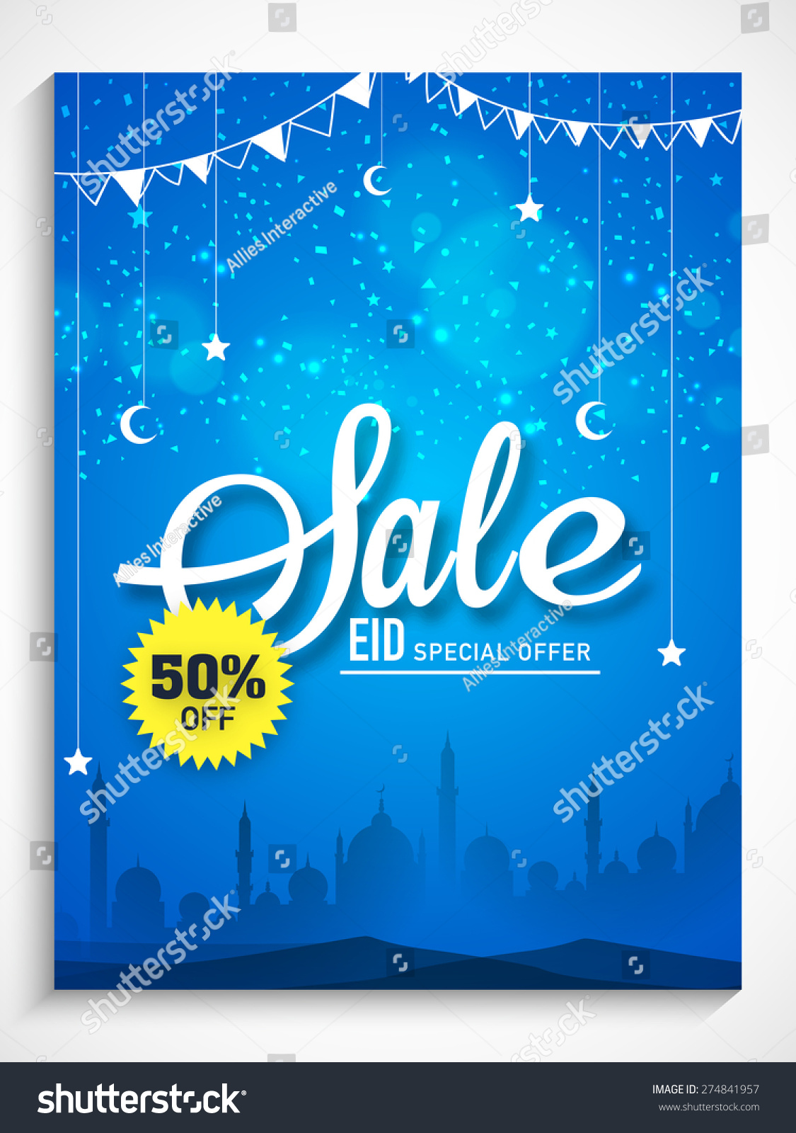 Beautiful Sale Poster Banner Flyer Design Vector 274841957 – Sale Flyer Design