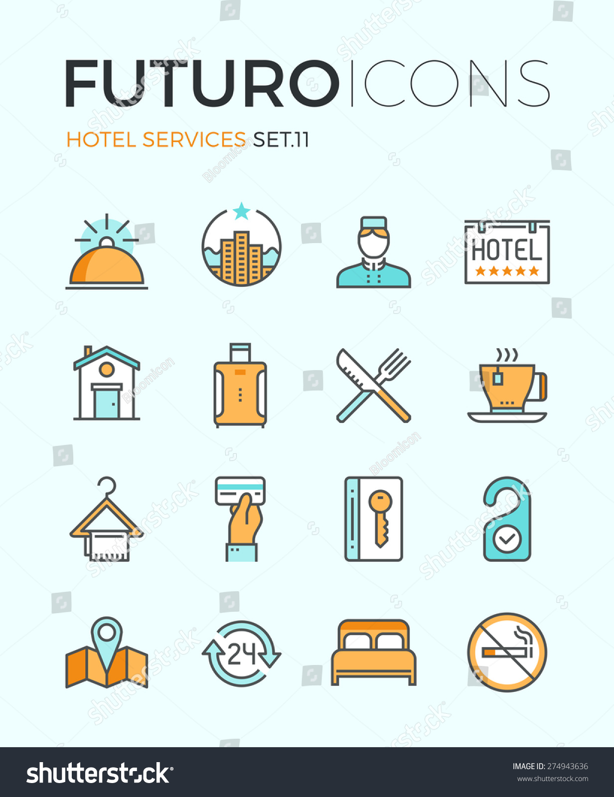 Facilities Service Icon Images
