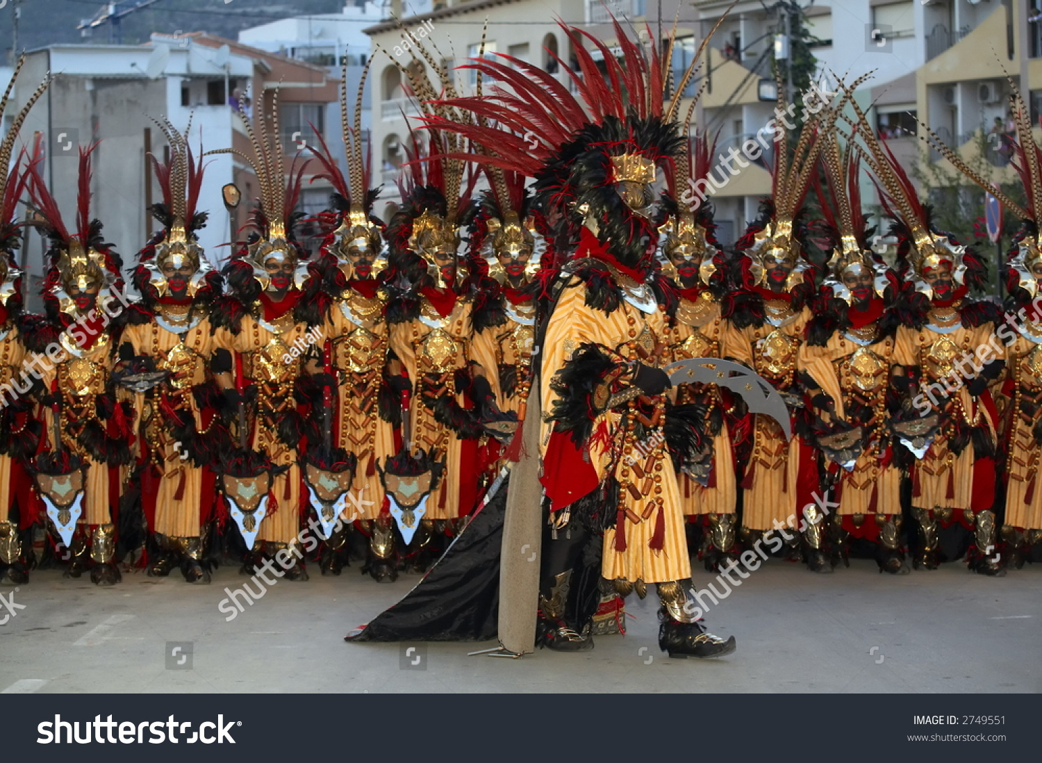 Moors And Christians Stock Photo 2749551 : Shutterstock