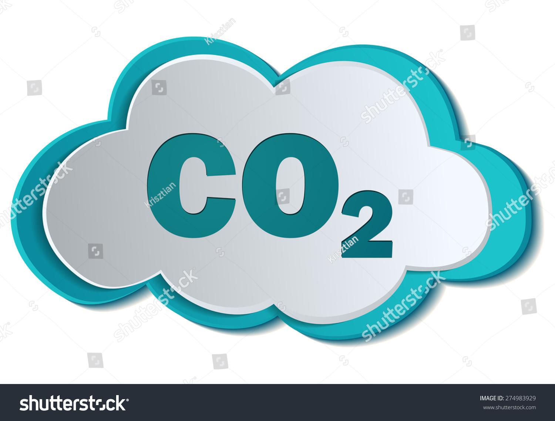Co2 carbon dioxide formula chemistry symbol stock vector 274983929 co2 carbon dioxide formula chemistry symbol on a cloud vector illustration buycottarizona Images