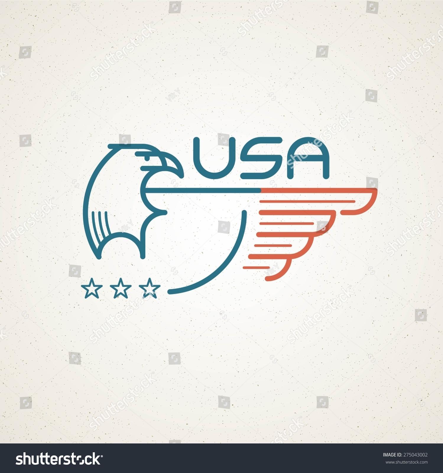 Made usa symbol american flag eagle stock vector 275043002 made in the usa symbol with american flag and eagle templates emblems vector illustration buycottarizona